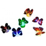 7 Colors Gradual Change Luminous butterfly flash light butterfly